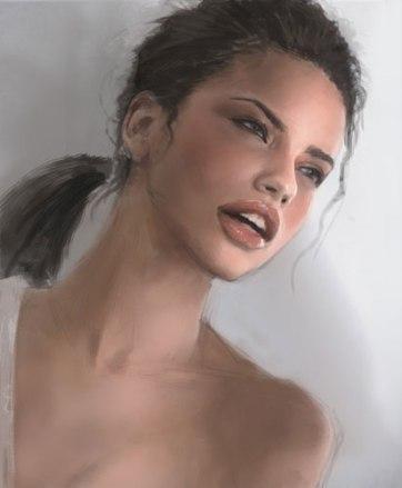 adriana lima drawing Xia Idrawgirls.com