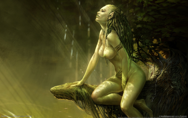 green naked elf GALLERY GIRLS -­ Extreme Character Drawing Dynamic Nude Elves @GNOMON school